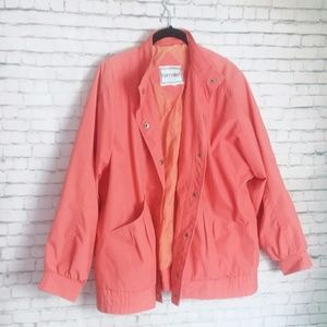 [VINTAGE] FLEET STREET coral jacket